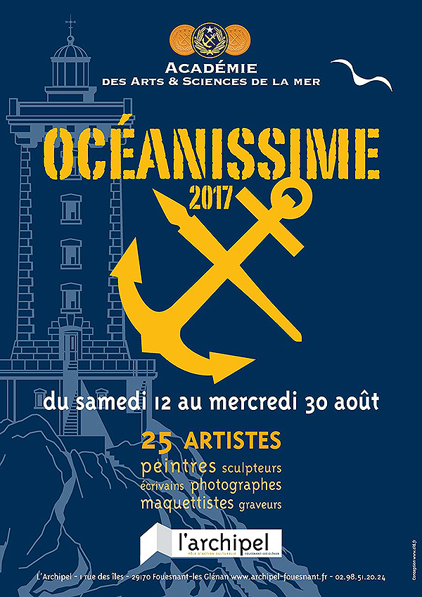 Océanissime 2017 Fouesnant - affiche