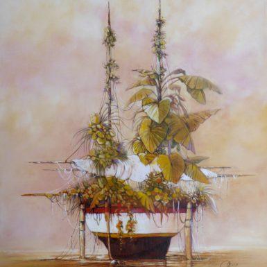 arche-zoe-philippe-migne-nature-plantes-peinture