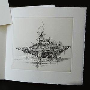 © Philippe MIGNÉ - livre illustré - L'Archipel des Possibles (détail)