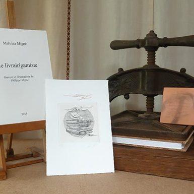 © Malvina et Philippe MIGNÉ - livre illustré - Le Livrairigamiste