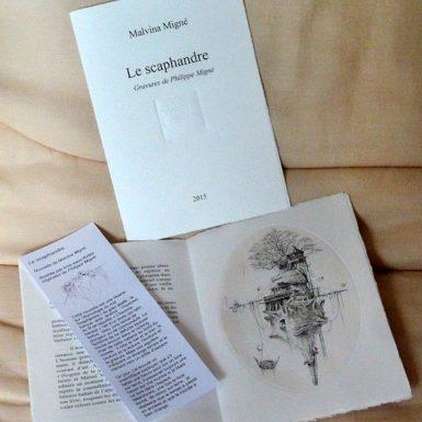 © Malvina et Philippe MIGNÉ - livre illustré - Le Scaphandre