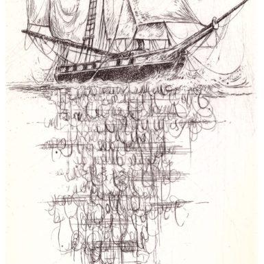 reflet calligraphique-gravure-philippe-migne