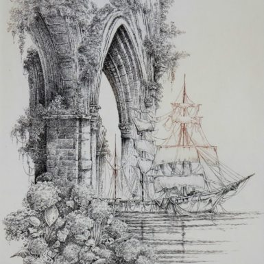 voyage-ruines-voilier-imaginaire-gravure-philippe-migne
